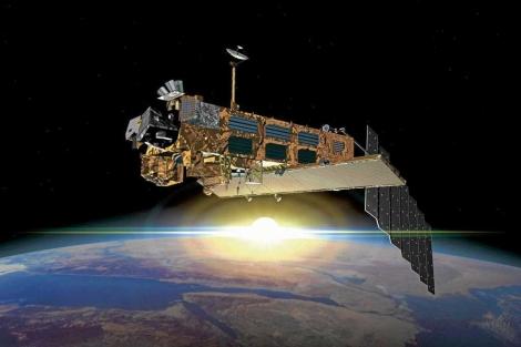 Vista del satélite Envisat. | Agencia Espacial Europea.