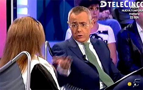 La entrevista de Jordi González a la madre de 'El Cuco', en la imagen, desató la polémica.