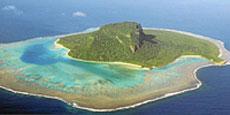 Una isla en el Pacífico Sur. | E.M.