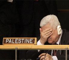 Abu Mazen, en la ONU.  Ap