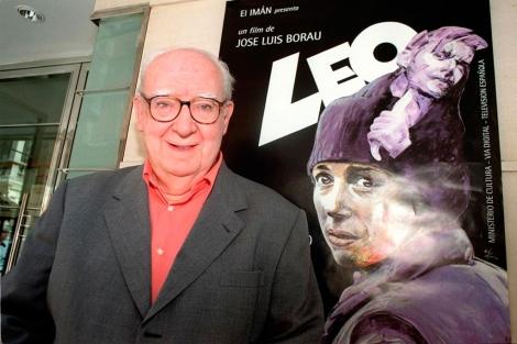 José Luis Borau, en la presentación de 'Leo' en 2003. | E.M.