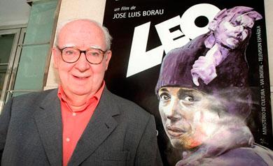 José Luis Borau, en la presentación de 'Leo'. | E.M.