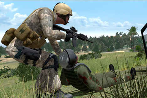 Rescate de un piloto en 'VBS2'. | Bohemia Interactive