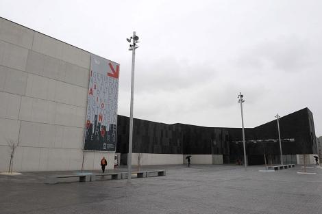 Centro cívico Ibaiondo, donde tendrá lugar la representación.|N. González