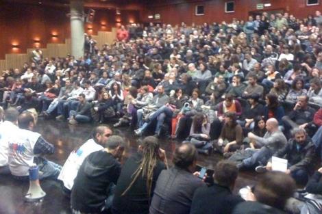 La plantilla ha decidido el parón durante una asamblea este lunes. | @cgttelemadrid