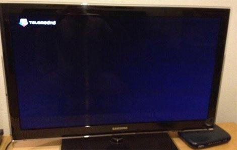 Telemadrid se ha ido a negro este lunes por la huelga.