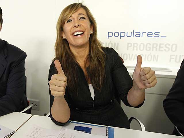 Alicia Sánchez-Camacho, en el Comité Ejecutivo Nacional del PP. | José Aymá