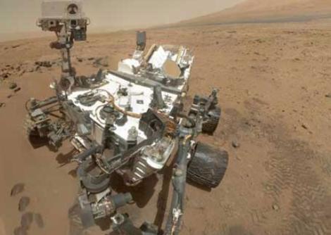Autorretrato del rover 'Curiosity'.   NASA