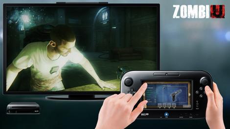 ZombiU es uno de los juegos que acompaña el lanzamiento de la consola.