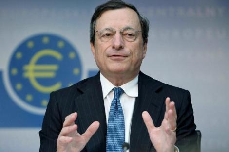 Mario Draghi, presidente del Banco Central Europeo (BCE). | Afp