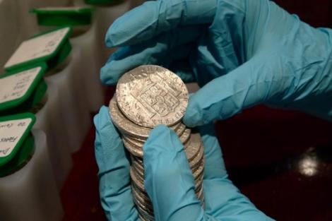 Parte de las monedas recuperadas. | E.M.