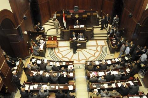 Vista de la Asamblea Constituyente, antes de votar el borrador. | Efe