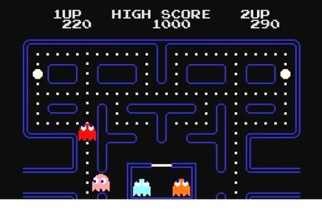 Pac Man, el clásico de los 80.|  VEA MÁS FOTOS DE LOS VIDEOJUEGOS.