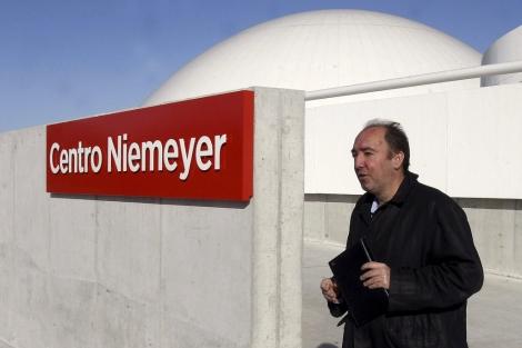 Natalio Grueso, en el Centro Niemeyer, en febrero. | Efe