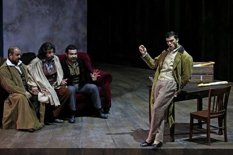 Una escena de la ópera La Bohème. | Efe