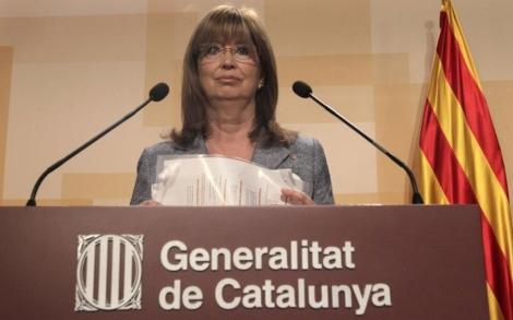 La conseller de Educación en funciones, Irene Rigau. | Antonio Moreno