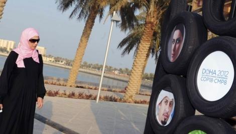 La cumbre mundial del clima se celebra en Doha. | STR