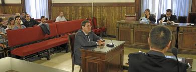 Juicio a Hernández Mateo en la sede del TSJ en Valencia. | José Cuéllar