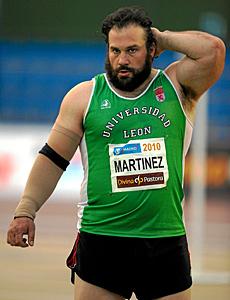 El atleta leonés Manolo Martínez.