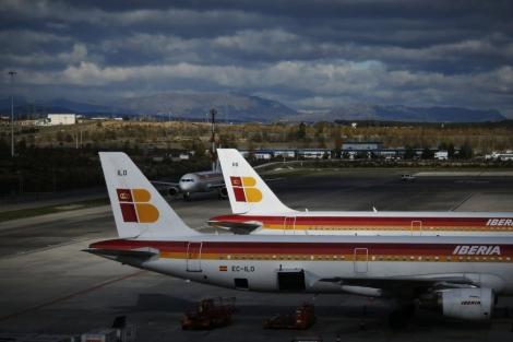 Aviones de Iberia. | Reuters
