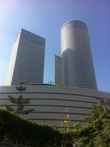 Azrieli, complejo de rascacielos en Tel Aviv. | Mateo Rouco