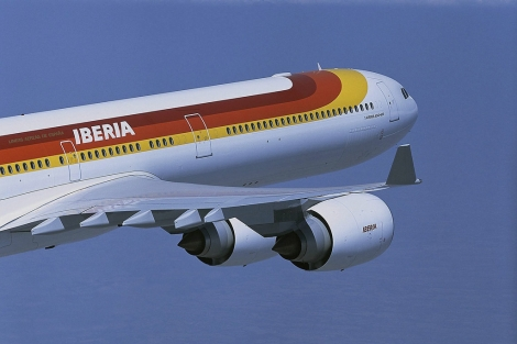 A340 de Iberia.   Iberia