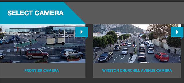 Página web donde se emite en directo lo que transmiten las cámaras.