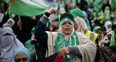 Participantes en las celebraciones. | Reuters