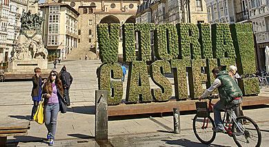 Plaza de la Virgen Blanca de Vitoria.| E.M.