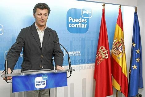 El diputado del PP Santiago Cervera, en un acto del partido. 1 Jesús Diges / Efe