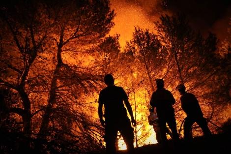 La fotografía de Pedro Armestre para AFP, seleccionada.   AFP