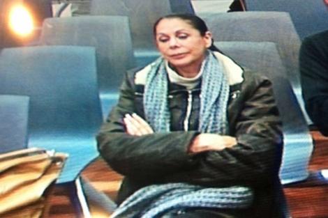 Isabel Pantoja este martes durante el juicio. | Cabanillas