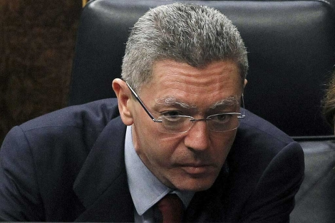 El ministro de Justicia, Alberto Ruiz-Gallardón. | Foto: Efe / J.J. Guillén.