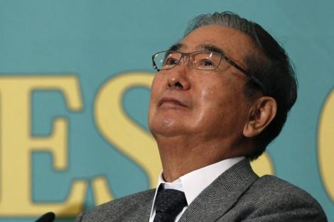 Shintaro Ishihara, líder del Partido de Restauración japonés, en Tokio. | Afp