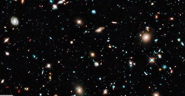Imagen de la galaxia UDFj-39546284. | Hubble