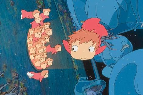 Fotograma de 'Ponyo en el acantilado', el último trabajo hasta ahora de Miyazaki.