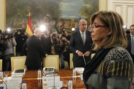 La 'consellera' catalana durante la Conferencia Sectorial el pasado día 4 .   Sergio González