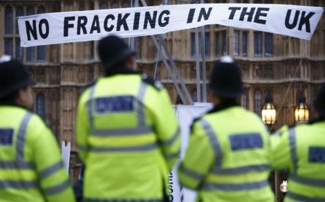 Protestas contra el uso de 'fracking' en Londres. | Justin Tallis