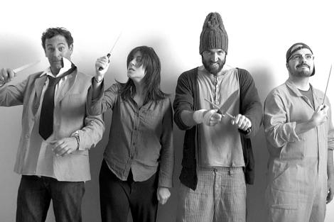 El equipo de Background 3D en el corto 'Matamos por un cliente'.