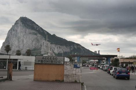 Frontera con Gibraltar.| Francisco Ledesma