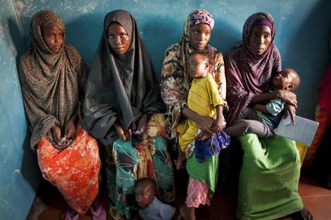 Grupo de mujeres somalíes. | A.R.