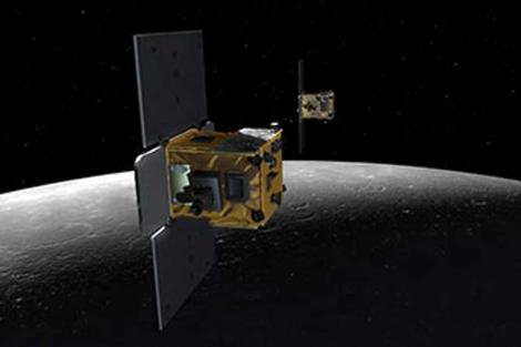 Las sondas GRAIL tienen el tamaño de una lavadora. | NASA