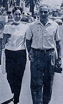 Ernesto Koplowitz y Albertina Rangel. | EM