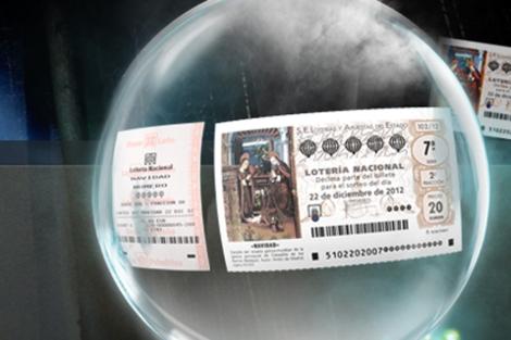 Eslogan del anuncio de la Lotería de Navidad para 2012.