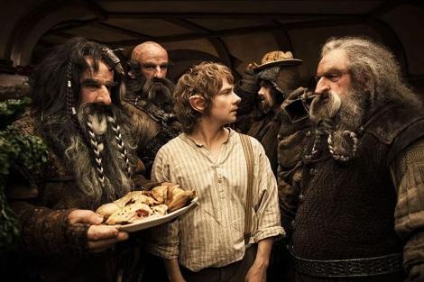 Fotograma de 'El Hobbit: un viaje inesperado'.