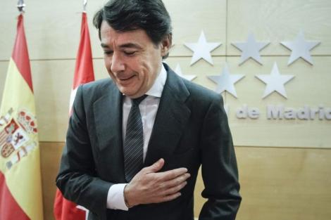 Ignacio González, el presidente de la Comunidad.| Efe
