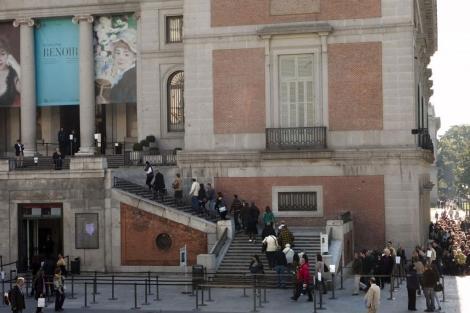 Entrada del museo durante la exposición dedicada a Renoir. | ELMUNDO.es