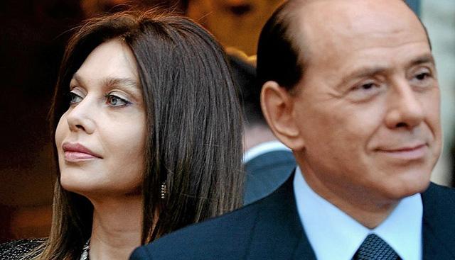 Silvio Berlusconi y Verónica Lario en una imagen de 2010. | El Mundo