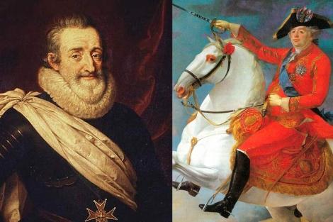 Enrique IV y Luis XVI de Francia.| Bridgeman Art Library/J.F. Carteaux.