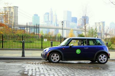 Un coche de Zipcar en Nueva York.